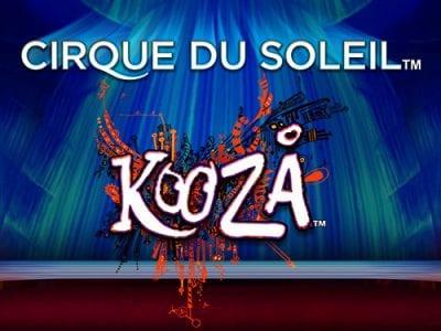 Cirque du Soleil Kooza Slot Pokie Review Bally Logo