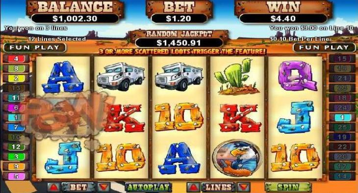 Coyote Cash pokie bonus free spins