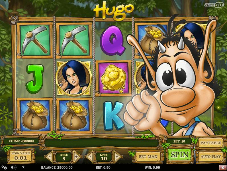 Hugo Pokie Play'n GO Screenshot