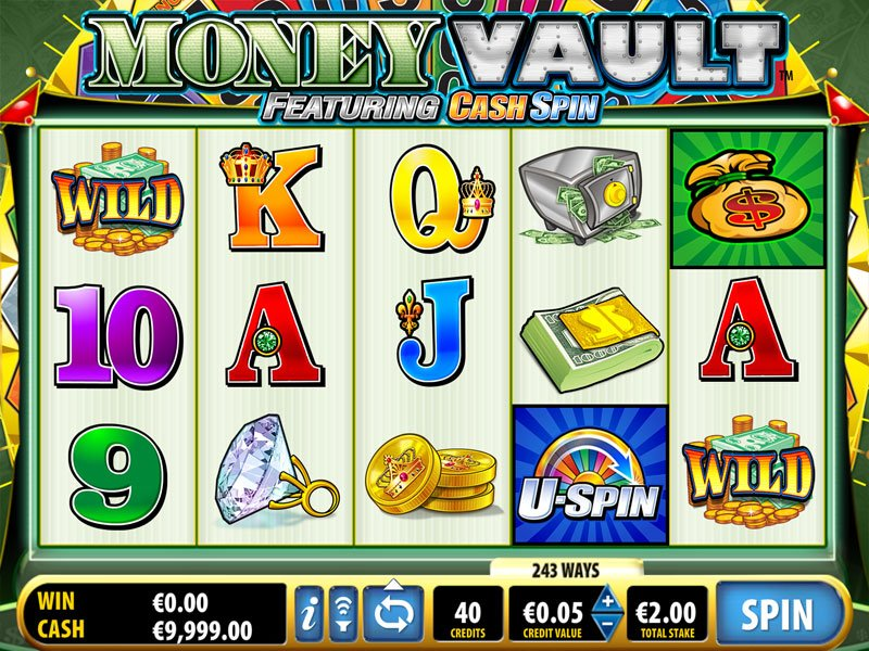 Money Vault Slot Pokie Review Screenshot Bally