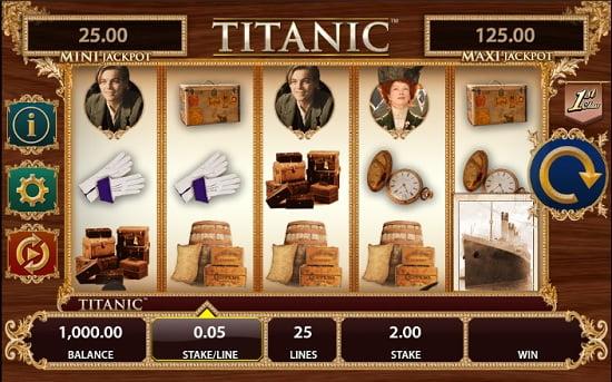 Titanic Pokie Screenshot