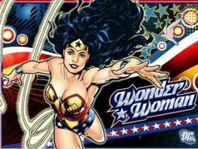 Wonder Woman Pokie logo