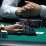 Bluffing in a Poker Game