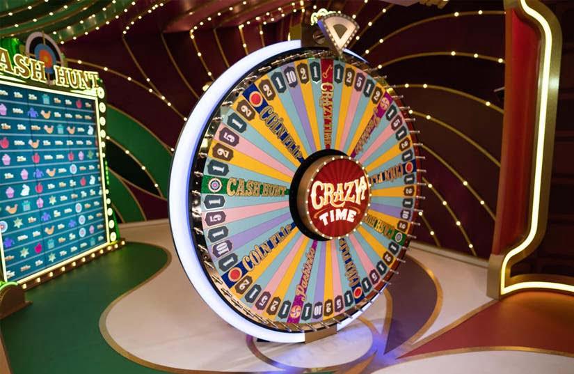 Crazy Time Live Casino Game