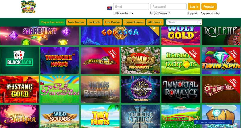 Slots Jungle Casino No Deposit Codes 2017