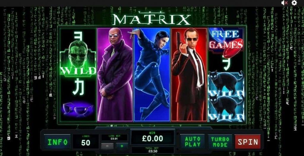 matrix slot machines