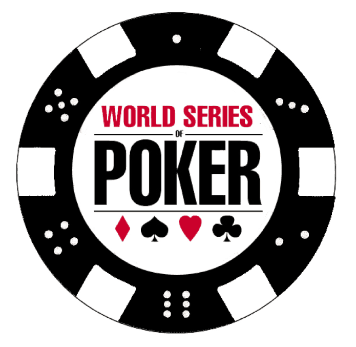 the logo of wsop tournament